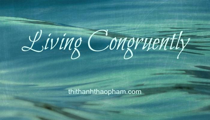 Living Congruently