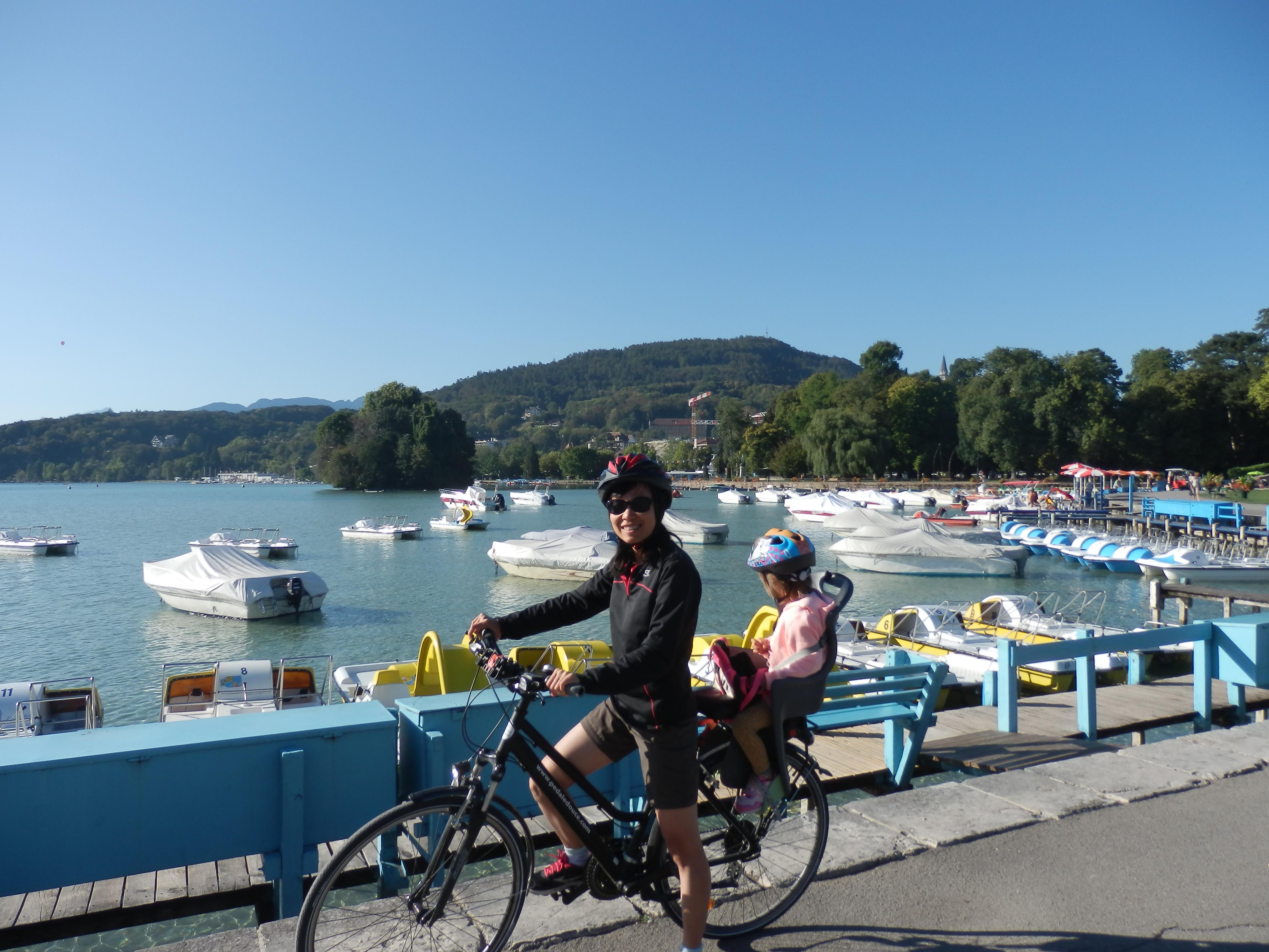 Điểm khởi hành: Hồ Annecy