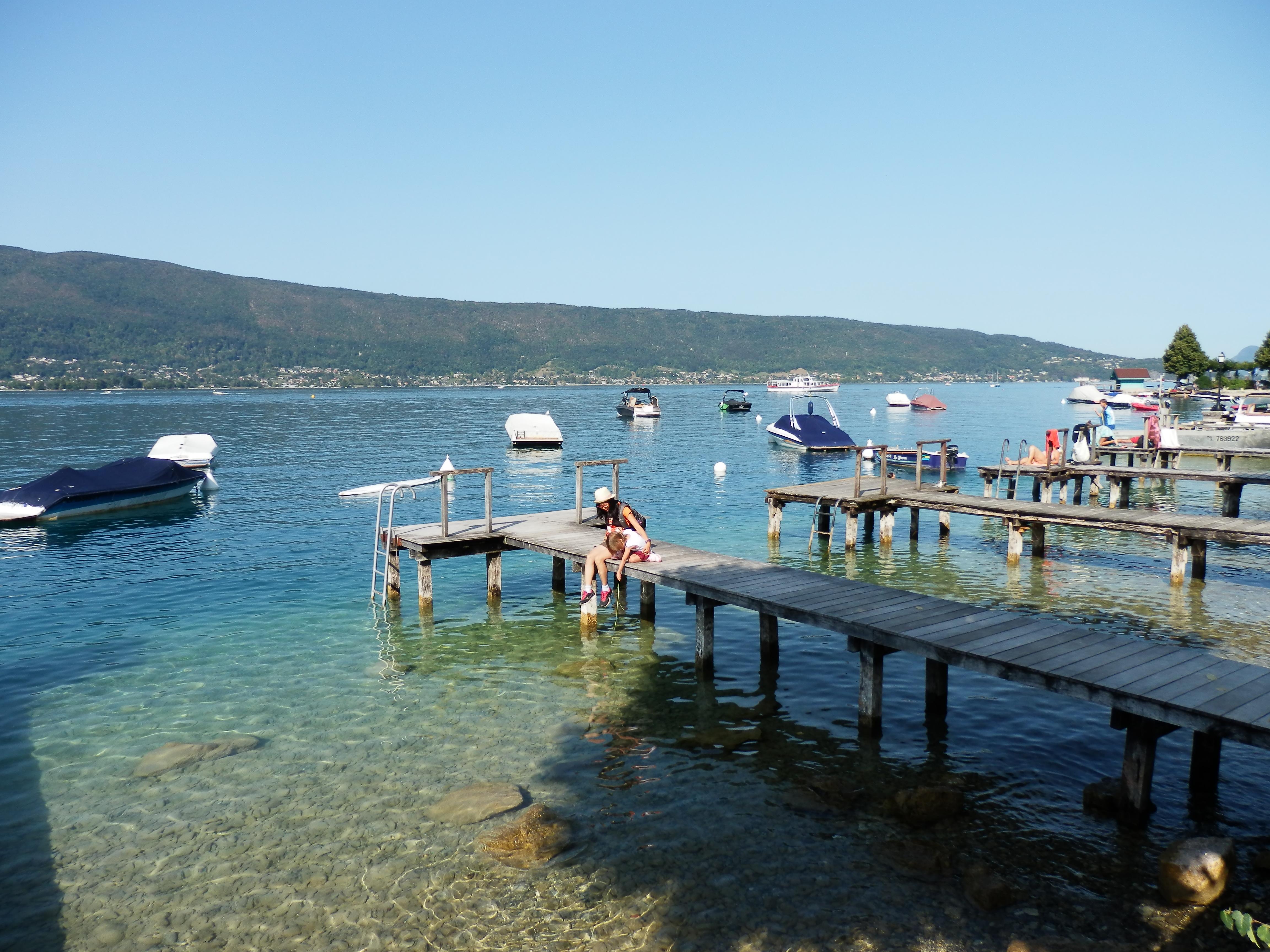 Điểm cuối dừng chân bên Hồ Annecy